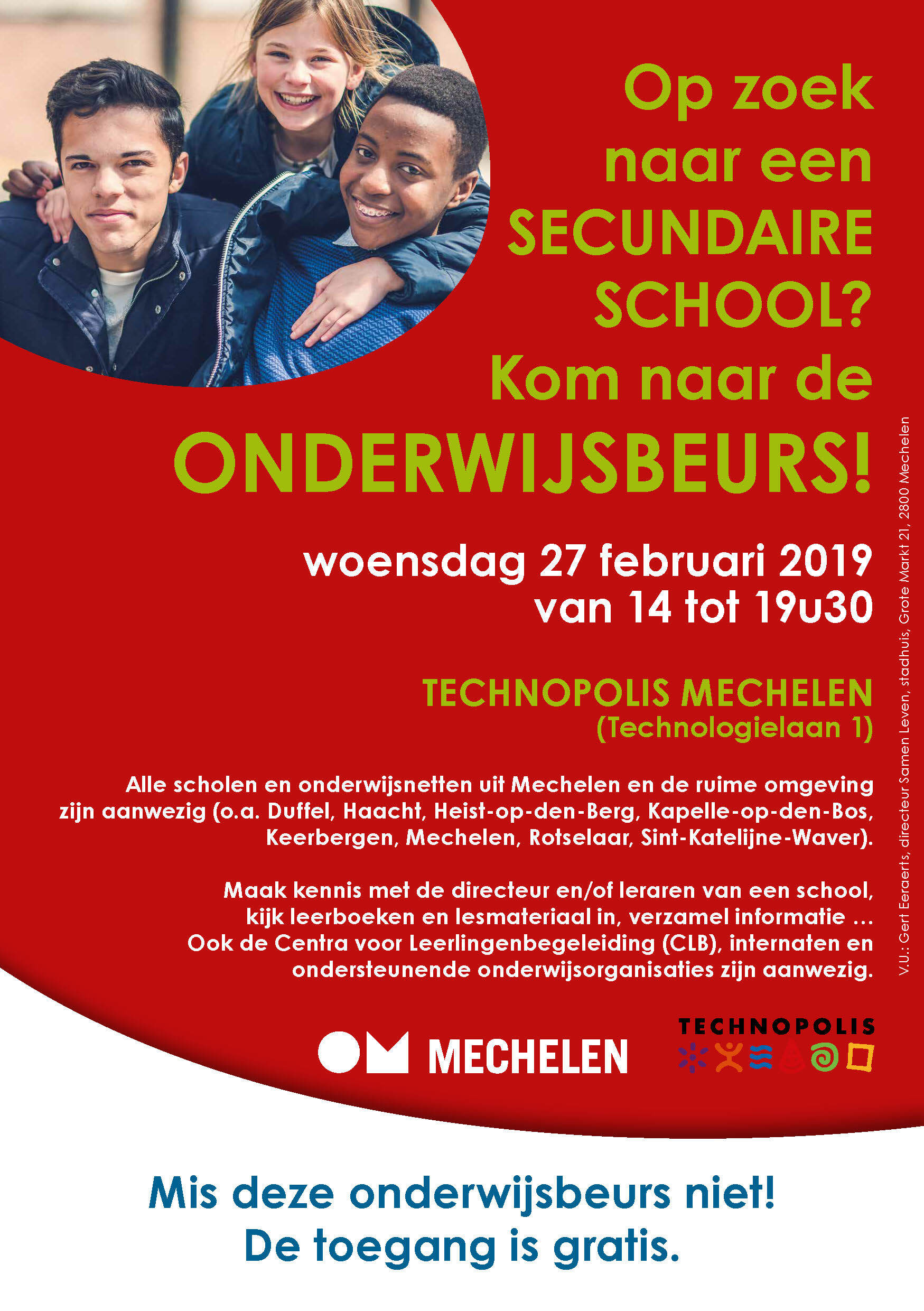 Onderwijsbeurs Mechelen