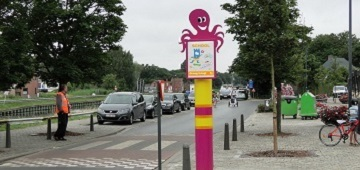 Eerste Octopuspaal in Mechelen